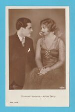 ACTOR  -  ROSS  VERLAG  POSTCARD  -  RAMON  NOVARRO  &  ALICE  TERRY  -  C 1930