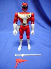 "RARE KOUSOKU SENTAI TURBORANGER RED 8"" SUPER BIG POSE SERIES 1989 BANDAI MMPR"