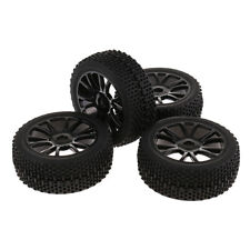 4 Pcs RC 1/8  Car Buggy 17mm Hex Wheel Rims&Tires for Traxxas HSP