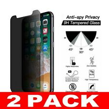 2X Anti Spy  Privacy Tempered Glass Screen Protector For Apple iPhone XR