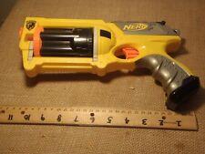 Nerf N-Strike Maverick Rev-6 Yellow Nerf Dart Gun