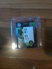 New HP 92 + 93 Tri Color Combo Pack Ink Cartridges