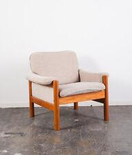 Mid Century Danish Modern Lounge chair Armchair Teak Scandanavian Ekornes Norway