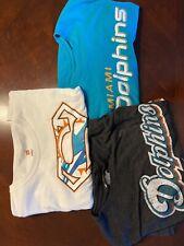 New listing XL MIAMI Dolphins Cotton T-Shirt - 3each Nike