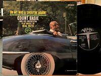 Count Basie Plays Neal Hefti: On My Way & Shoutin Again Vinyl LP Verve V6-8511