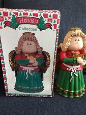Holiday Dough Angel Figurine By World Bazaars Holiday Collection