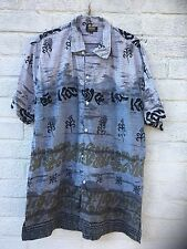 Vintage Hawaiian Tropical Beach Surf  shirt Size XL Great Condition