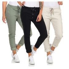 Damen Hose Stretch Skinny Jogginghose Hüfthose Freizeithose Jeggings Jeans Sport