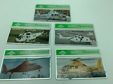 X5 HELICOPTER BT PHONECARDS AMBULANCE EXPRESS