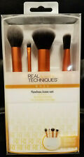 Real Techniques Flawless Base Set *4 Brush set w/ brush cup*