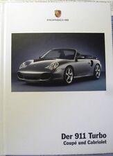 Original Prospekt Porsche : Der 911 Turbo Coupe und Cabriolet 996 Stand 2003 (6)