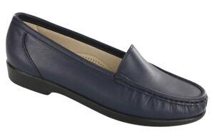 SAS Simplify Navy 7 WW Double Wide, Women's Shoes