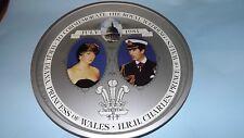 1981 Royal wedding of Princess Diana Super Tin Tray Diana in Famous Black Dress