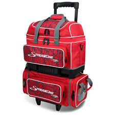 Storm 4 Ball Streamline Bowling Bag Red Crackle/Red Fast Shipping