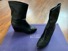Stuart Weitzman Women's Wedge Bootie in Black US Size 7.5