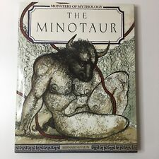 The Minotaur By Bernard Evslin 1987 Hardcover Mythology-(B3)