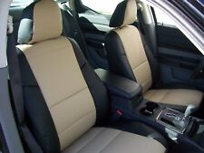 CHRYSLER 200 SEDAN 2011-2012 IGGEE S.LEATHER CUSTOM FIT SEAT COVER 13 COLORS