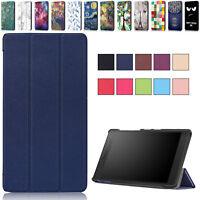 """Lenovo Tab2 Tab3 Tab4 Tab7 7""""/ 8""""/ 10.1"""" Tablet Case Slim Smart Shell Fold Cover"""
