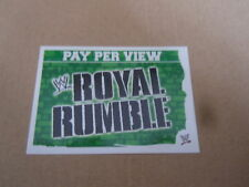 Carte catch Slam Attax Mayen 2010 Vert - Royal Rumble