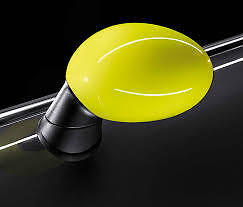 Mirror Cap Cover Set Yellow Fluro Genuine Mini F55 F56 Cooper Ray 51162410470