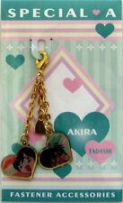 Special A Fastener Accessory S.A Akira, Tadashi Charm Anime Manga Game Mint
