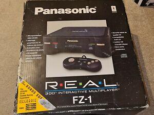 Panasonic 3DO FZ-1 Console (NTSC-U) RGB & 240p switch Mods - UK Plug - Boxed