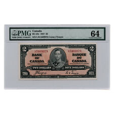 Bank of Canada Coyne/Towers $2 1937  BC-22c Choice Uncirculated 64