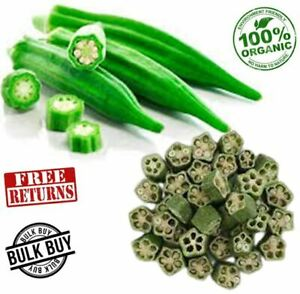Okra Dried Slices Organic Dehydrated Natural Ladies' Finger chips for Soup