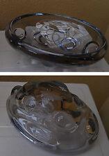 Ciotola in cristallo 1960-1970 - Vintage Italian design crystal glass bowl