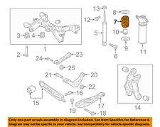 GM OEM Rear Suspension-Spring 23476247