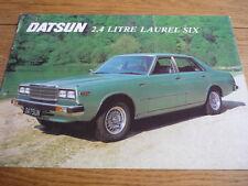 DATSUN LAUREL SIX  SALES BROCHURE 1979 jm