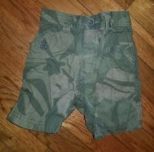 Boys Camouflage Old Navy Shorts Size 6-12 Months