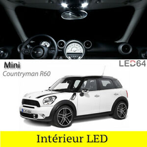 Kit 7 Light Bulbs LED For Lighting Interior White Mini Countryman R60