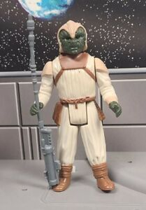 Vintage Kenner Star Wars Klaatu Skiff Guard Outfit Complete ROTJ No COO