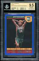 Giannis Antetokounmpo Card 2013-14 Hoops Blue #275 BGS 9.5 (10 9.5 9.5 9.5)