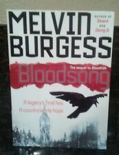 """*NEW* paperback copy of """"Bloodsong"""" novel by Melvin Burgess"""