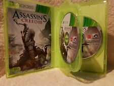Assassins Creed 3, III - Xbox 360 Game Complete with Manual.  2 x Disc set. VGC