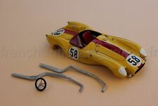 MS Voiture Ferrari 250 TR 58 jaune rouge collector 1/43 Heco Miniatures Château
