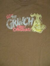 M brown How The Grinch Stole Christmas Dr. Suess t-shirt by Aaa