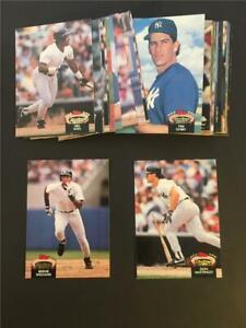 1992 Topps Stadium Club New York Yankees Team Set 35 Cards