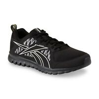 Reebok Men's Sublite Escape MT Running  Sneakers Black/Gravel/Silver !!!SIZE 9.5