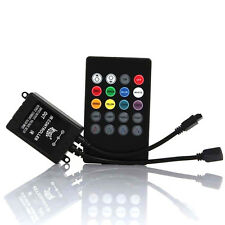 20Key IR Remote Sound Sensor Music Controller for RGB 5050 3528 LED Strip Light