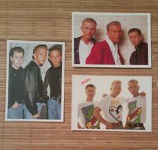 3 cartes postales Bross Matt et Luke Goss Craig Logan