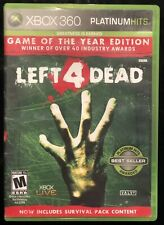 Left 4 Dead Xbox 360 With Case