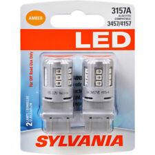 Turn Signal Light Bulb-LED Blister Pack Twin Front/Rear SYLVANIA 3157ASL.BP2