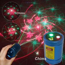 Chims Mini Laser Light Flashlight Cordless RG 30 Gobo Family DJ Party Projector