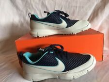 Nike Explorer 2 Mens Golf Shoes Midnight Navy/Pure Platinum Size 8 - New In Box