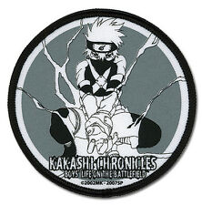 Naruto Shippuden Kakashi Chronicles Circle Patch By GE Official Licensed GE4455