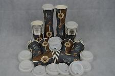 """1000 KAFFEEBECHER """"NEW CAFE"""" COFFEE TO GO 0,3l MIT DECKEL;PAPPBECHER;BECHER;"""