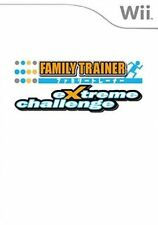 Family Trainer - Extreme Challenge Game Only for Nintendo Wii and PAL